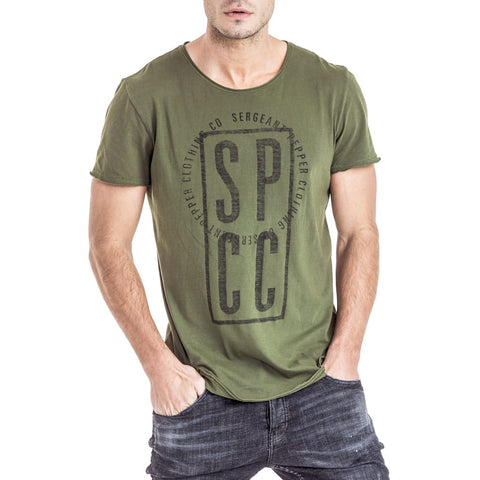 Shop Benoa T-Shirt for R 399.95 | T-Shirts | December 18, Fatigue, Men, New In - S18, October 18, Olive, Sale-S18, T-Shirts, Tees, Tops, White | S.P.C.C | Sergeant Pepper Clothing Co