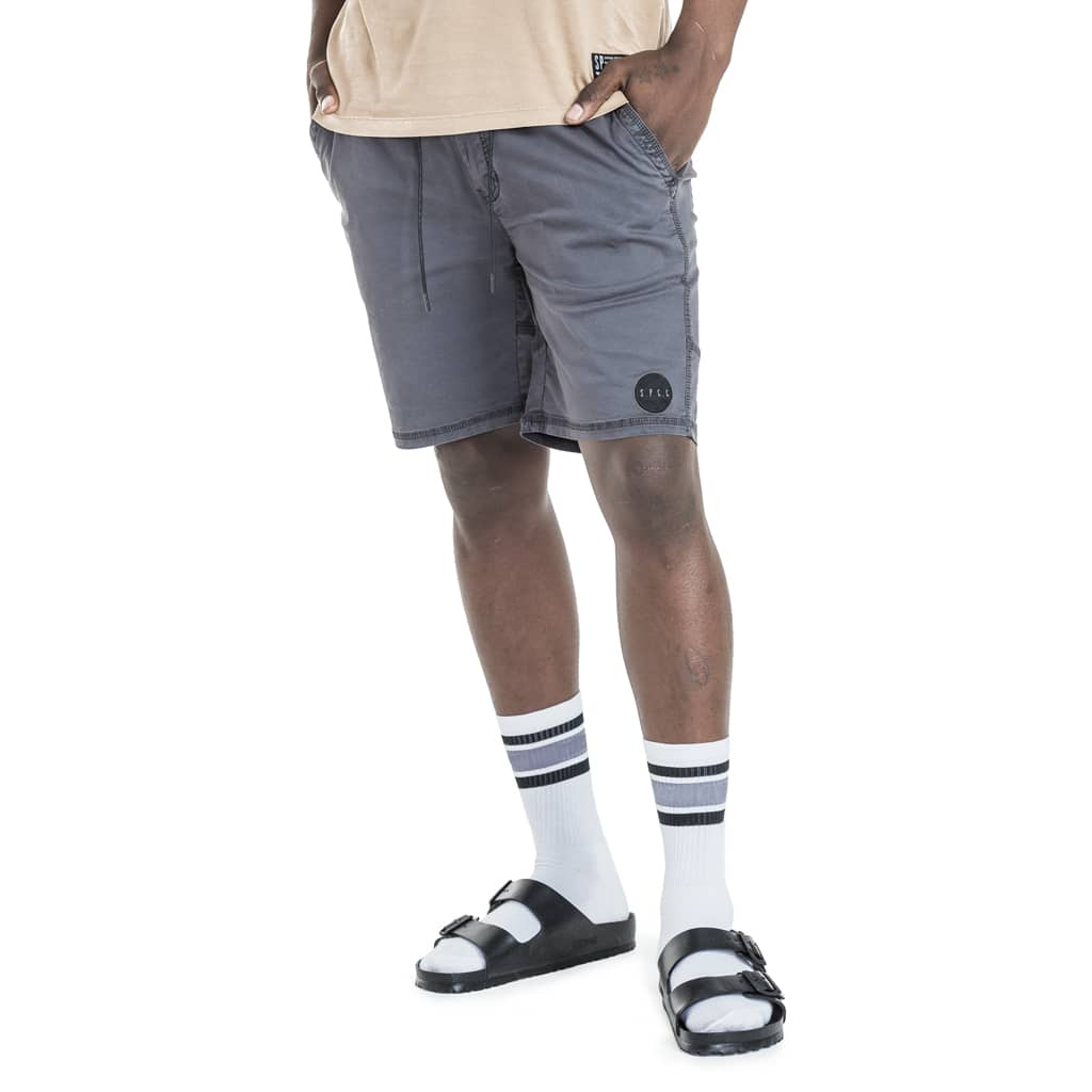 Shop West Walk Shorts for R 699.95 | Shorts | Black, Bottoms, Men, New In - S18, October 18, Sale-S18, Shorts | S.P.C.C | Sergeant Pepper Clothing Co