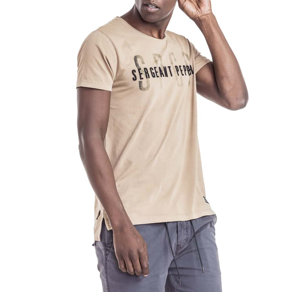 Shop Twist T-Shirt for R 399.95 | T-Shirts | Blue, Brown, July 18, Men, New In - S18, November 18, October 18, Sale-S18, T-Shirts, Tabacco, Tees, Tops, White | S.P.C.C | Sergeant Pepper Clothing Co