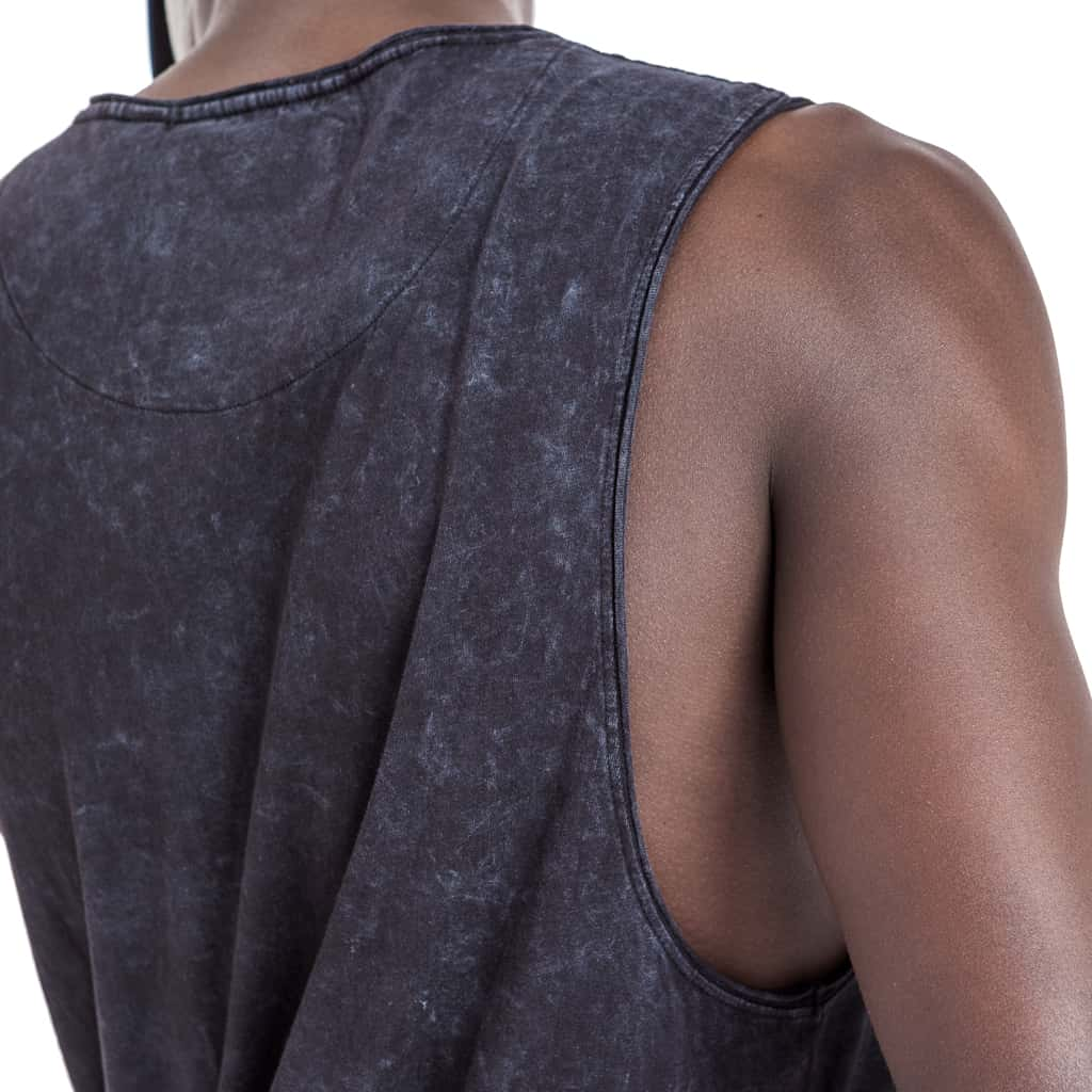Shop Victoria Sleeveless T-Shirt for R 299.95 | T-Shirts | Black, December 18, Grey, Men, New In - S18, November 18, October 18, Sale-S18, Sleeveless, T-Shirts, Tops, Vests, White | S.P.C.C | Sergeant Pepper Clothing Co