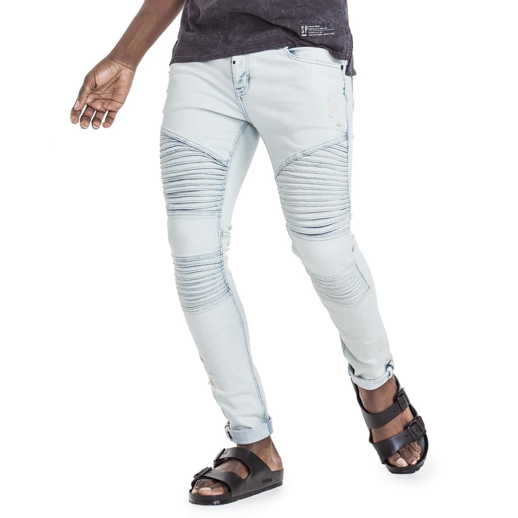 Shop Rhine Denim Jeans for R 1199.95 | Denim | Blue, Bottoms, Denim, Jeans, Men, New In - S18, November 18, Sale-S18, Trench | S.P.C.C | Sergeant Pepper Clothing Co