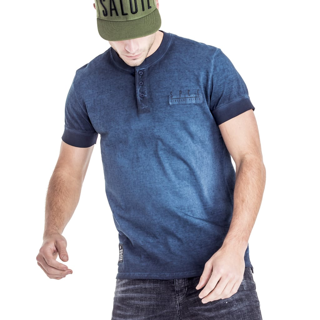 Shop Fuller Henley T-Shirt for R 499.95 | T-Shirts | Blue, December 18, Golfer, Golfers, henley, Henleys, Men, New In - S18, Sale-S18, T-Shirts, Tops, tshirt | S.P.C.C | Sergeant Pepper Clothing Co