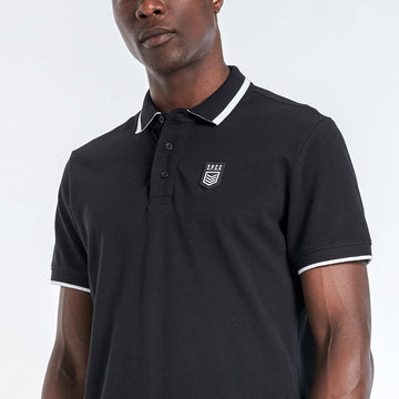 Braddock Polo - Black - S.P.C.C.® Official Online Store