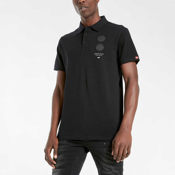 Saxon Polo - Black