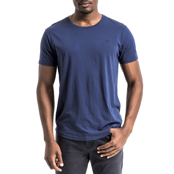 Origin Chevron T-Shirt - Navy
