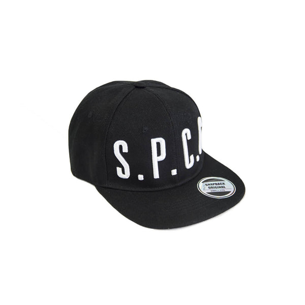 Rocco Flat Peak Cap - Black/White