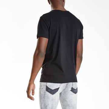 SGT1401 - Nam Tee - Black - Back View