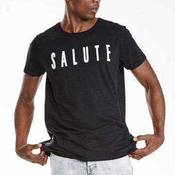 SGT1401 - Nam Tee - Black - Detailed Front View