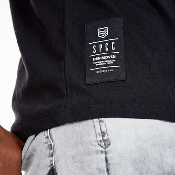 SGT1401 - Nam Tee - Black - Detailed Hem Label
