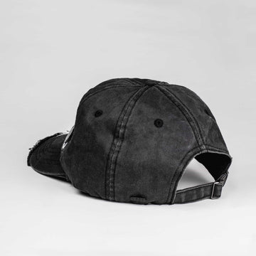 SGT1422 - Icon Cap - Black - Back View