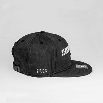 SGT1440 - Base Cap - Black - Side View