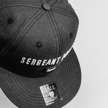 SGT1440 - Base Cap - Black - Detailed Top View
