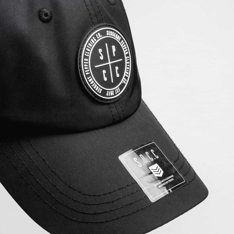 SGT1442 - Crosshair Cap - Black - Top View