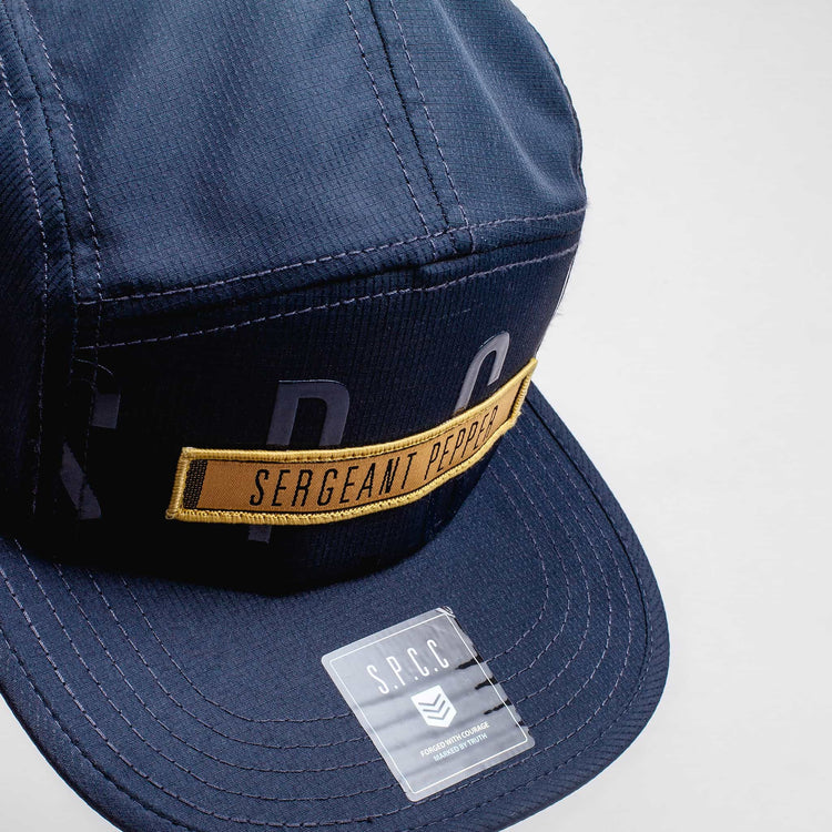 SGT1474 - The Saigon Peak Cap - Airforce - Top View
