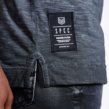 SGT1510 - The Jono Tee - Ink - Detailed Hem Label