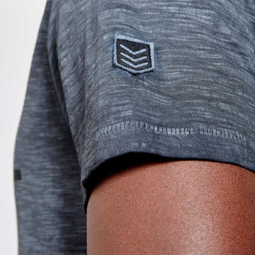 SGT1510 - The Jono Tee - Ink - Detailed Sleeve Badge