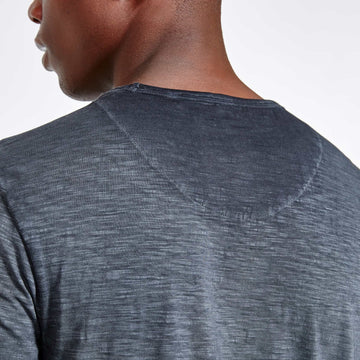 SGT1510 - The Jono Tee - Ink - Detailed Back View