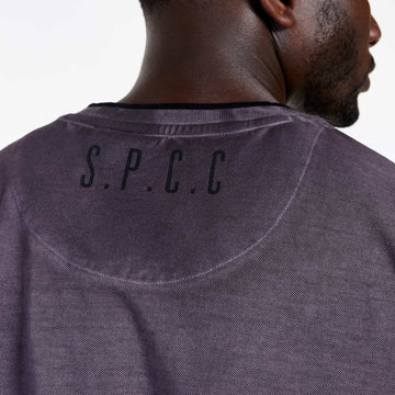 SGT1501 - The Illusion Henley Tee - Wine - Detailed Back Printed logo