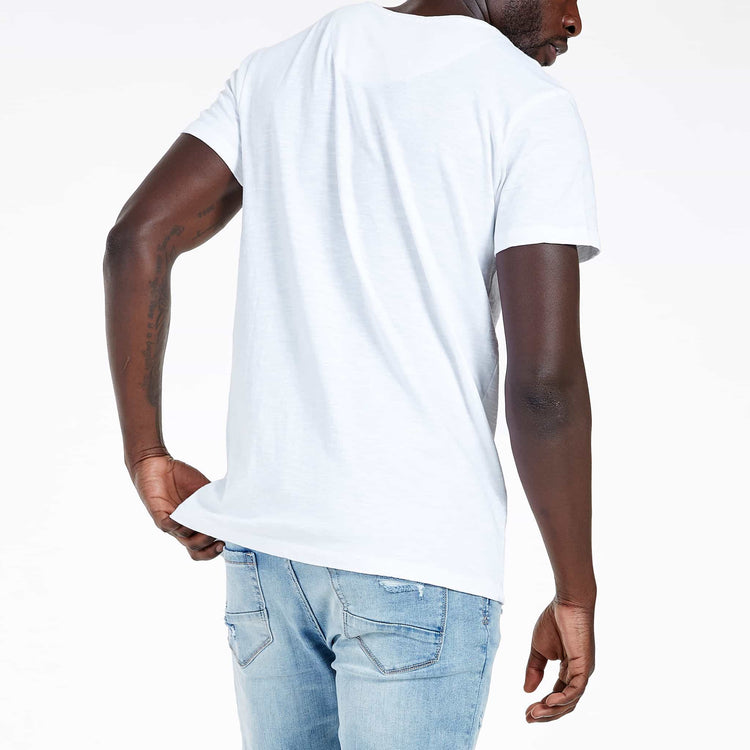 SGT-1504B - The Haven Tee - White - Back View