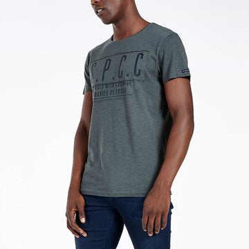SGT1504C - The Haven Tee - Light Fatigue - Side View