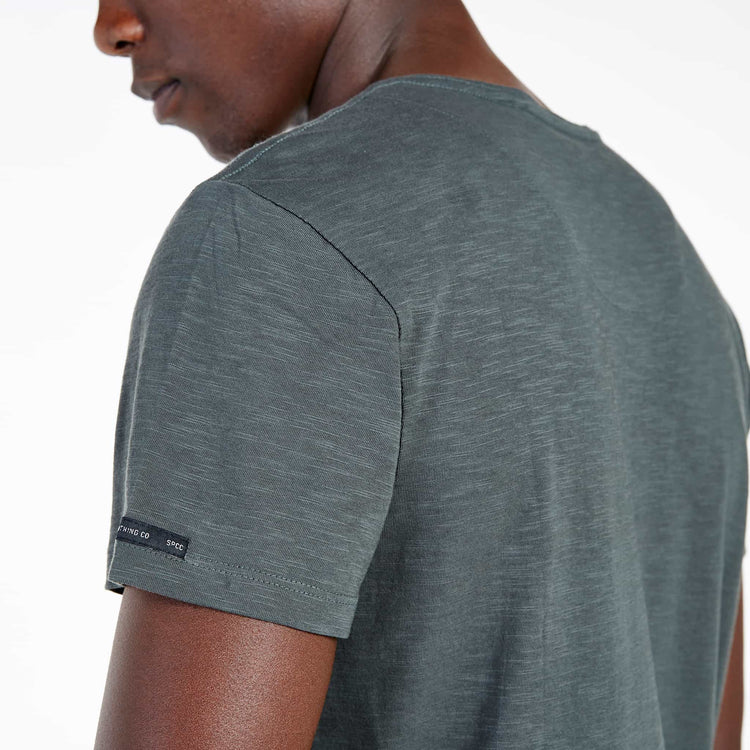 SGT1504C - The Haven Tee - Light Fatigue - Detailed Back View