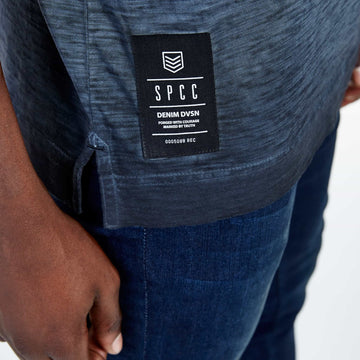 SGT-1509B - The Bence Tee - Ink - Detailed Hem Label