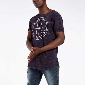 SGT1511A - The Fog Tee - Wine - Side View