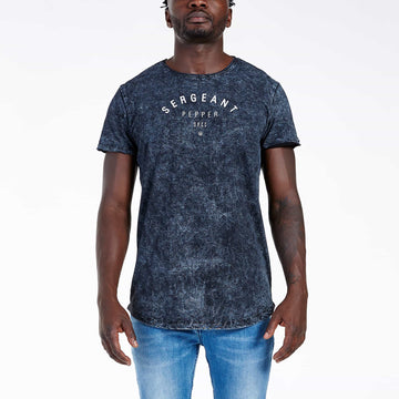 SGT1514A - The Smog Tee - Black - Front View