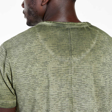SGT1518A - The Saigon Tee - Fatigue - Detailed Back View