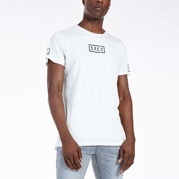 SGT-1521A - The Falcon Tee - Off White - Front View