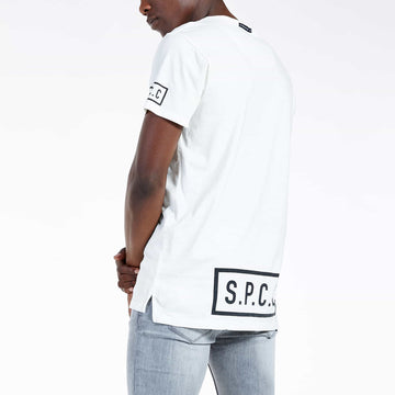 SGT-1521A - The Falcon Tee - Off White - Back View