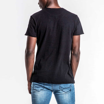 SGT1525 - Grill Tee - Black - Back View