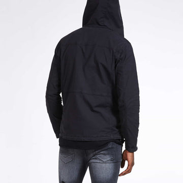 SGT1552 - Camden Jacket - Black - Back View