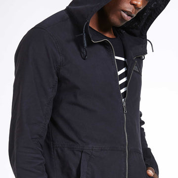 SGT1552 - Camden Jacket - Black - Detailed Hero View