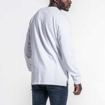 SGT1591 - Box Sweatshirt - White - Back View
