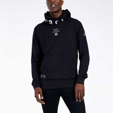 SGT1592 - Stealth Hoodie - Black - Front View