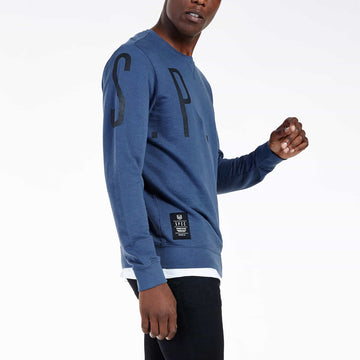 SGT1596A - The Vision Sweat Shirt - Airforce - Side View