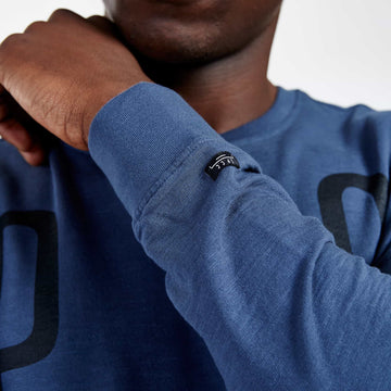 SGT1596A - The Vision Sweat Shirt - Airforce - Detailed Sleeve Cuff
