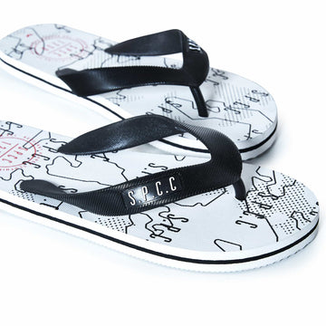 Matador Flip Flops - Optical White