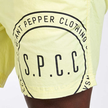 Studio Shorts - Lemon drop - S.P.C.C.® Official Online Store