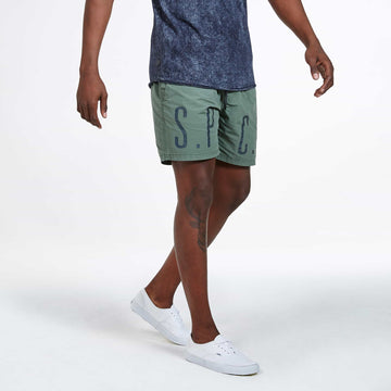Lassen Shorts - Washed Spruce