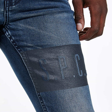 Grey Water Jeans - Dark Blue - S.P.C.C.® Official Online Store