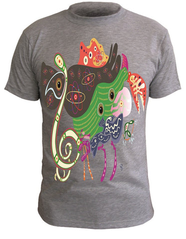 T-Shirt with Artistic Print - 003