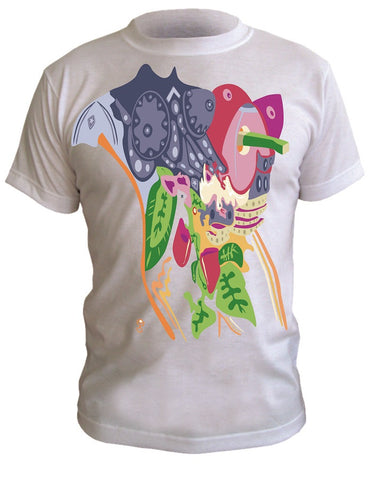 T-Shirt with Artistic Print - 005