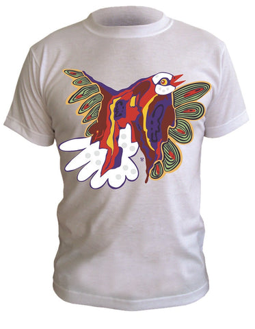 T-Shirt with Artistic Print - 001
