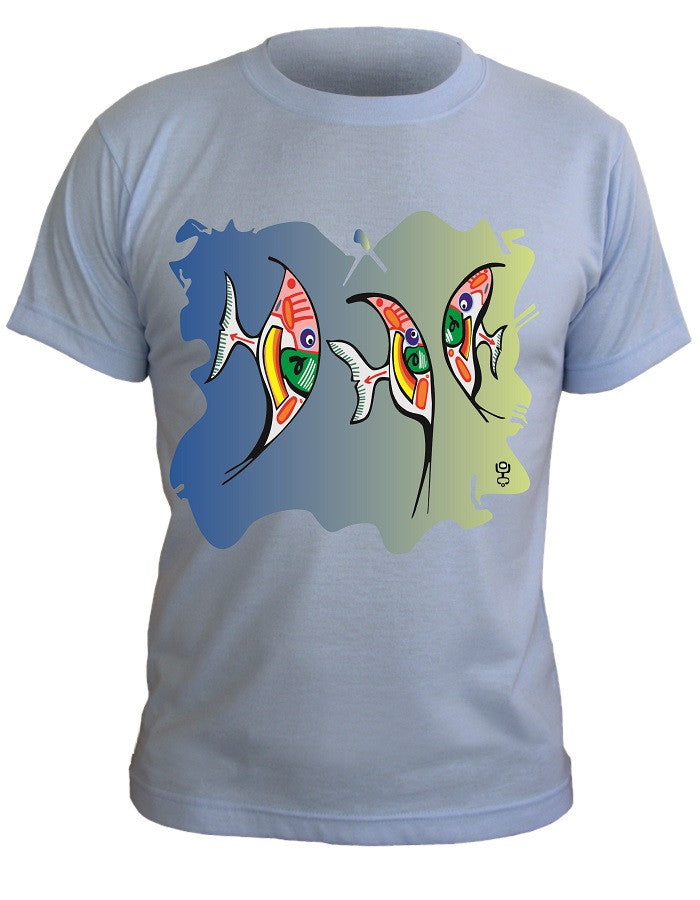 T-Shirt with Artistic Print - 013