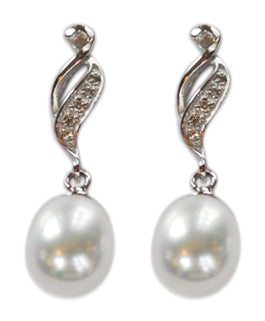 Freshwater Water Pearls EAR041