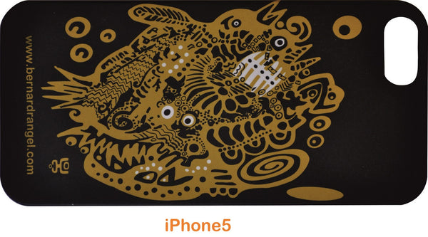 Artistic Black iPhone 5 Cover