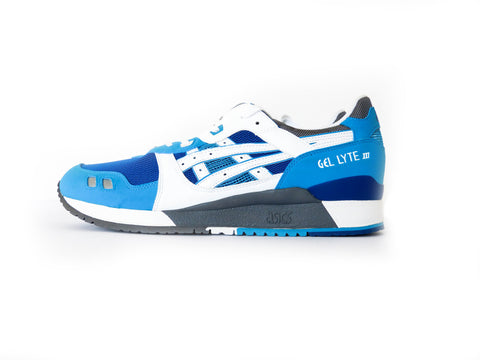 DS ASICS Gel Lyte III Blue/White KITH Exclusive