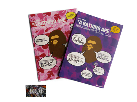 2005 A bathing ape Spring/Summer Autumn/Winter magazine